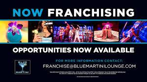 martini lounge franchise blue martini lounge