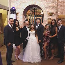 Wedding Dress Cast The U0027jersey Shore U0027 Cast Reunited Once More For Deena Cortese U0027s