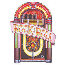 Rock And Roll Party Decorations 1950 U0027s Juke Box Cutout 3ft Rock And Roll Music Party Decorations