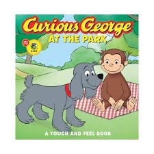 curious george park touch feel book walmart