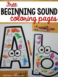 free beginning sounds worksheets updated measured mom