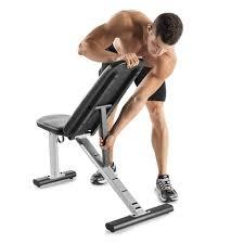Adjustable Weight Bench Gold U0027s Gym Xr 6 0 Adjustable Weight Bench Walmart Com