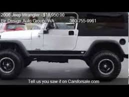 2006 jeep wrangler rubicon unlimited for sale 2006 jeep wrangler unlimited for sale in burlington wa 98