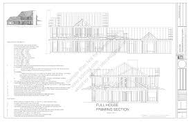 h212 country style porch house plans blueprints construction
