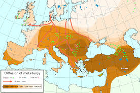 Map Of Europe And Asia by New Map Of The Diffusion Of The Copper Age In Europe Page 3