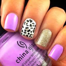 cute leopard print nails by glittr paulina u0027s passions