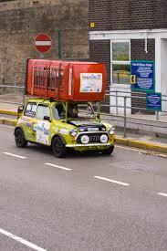 rally mini truck file mini with telephone box jpg wikimedia commons