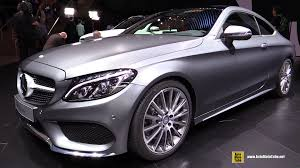 mercedes c300 wallpaper 2016 mercedes c class coupe exterior and interior walkaround