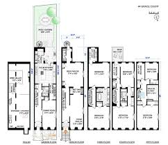 Brooklyn Brownstone Floor Plans Classic Brooklyn Heights Brownstone Wants 8 75m Curbed Ny