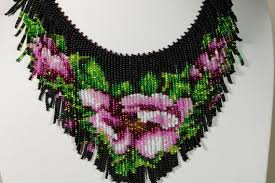 beaded necklace patterns images Beaded necklace tutorial seed beads necklace pattern how beaded jpg