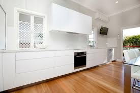 long kitchens custom wide drawers complement the long bench kitchen ideas