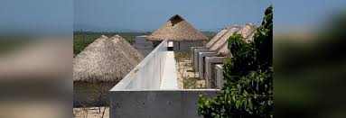 Mexican Thatch Roofing tadao ando crafts concrete campus for mexico u0027s casa wabi