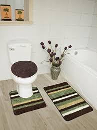 Bathroom Contour Rug Abby 3 Bathroom Rug Set Bath Rug Contour Rug