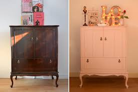 diy painting my vintage cabinet pink u2013 retromantisch