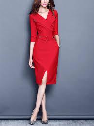 modele de robe de bureau pas cher nouveau design 2016 de style britannique personnalité