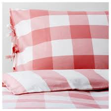 ikea emmie ruta quilt cover and 4 pillowcases decorative ribbons keep the quilt in place