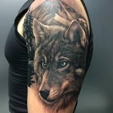 of wolf tattoos
