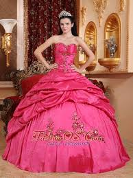 coral pink quinceanera dresses wonderful hot pink quinceanera dress sweetheart taffeta appliques