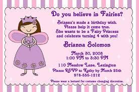 design simple fairy birthday invitations ideas with charming