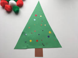 super simple christmas tree craft for toddlers live love mess