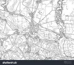 Kiev Map Black White Drawing Map Kiev Region Stock Vector 526033702
