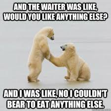 Polar Bear Meme - weak punchline polar bear memes quickmeme