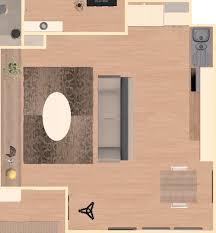 cuisine au milieu de la aide aménagement salon cuisine carré