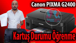 canon pixma g2400 test page printing youtube