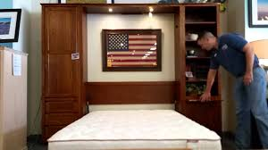 Furniture In The Bedroom Furniture In The Raw Inc Made In Texas Murphy Bed Demo Youtube