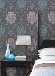 bedrooms bedroom wallpaper accent wallpaper retro wallpaper