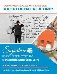 signature of real estate course guide