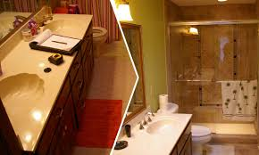 Bathroom Remodeling Ideas Before And After by Master Bathroom And Guest Bathroom Remodel Bath Remodel Ideas