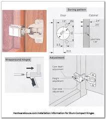 kitchen corner cabinet hinge adjustment how to install blum cabinet door hinges classycloud co