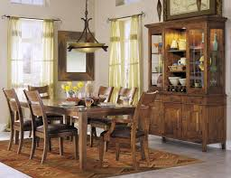country dining room sets amazing classic solid wood dining table in rustic house dining room
