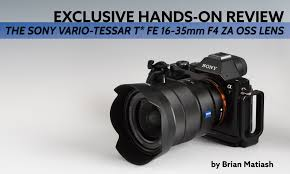 photofocus exclusive hands on review the sony vario tessar t