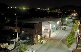 lighting stores in asheville nc asheville nc installs led street lighting on a large scale cree