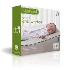 Safest Crib Mattress Dexbaby Safe Lift Universal Crib Wedge And Sleep