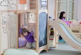 chambre enfant toboggan lit enfant pour la chambre fille ou garçon en 41 exemples