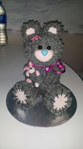 3d cake teddy 3d cake 5 steps with pictures