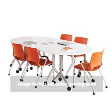 Hon Conference Table Motivate Half Round Table By Hon Smart Furniture