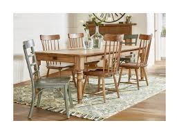 magnolia home by joanna gaines primitive 7 u0027 dining table and chair
