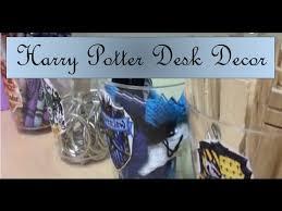 harry potter desk decor harry potter diy desk decor youtube