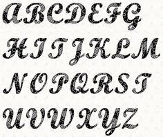 alphabet letter patterns alphabet curlz font by linleys