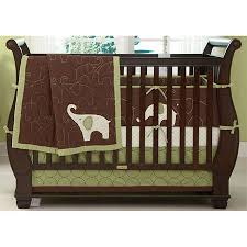 Green Elephant Crib Bedding Green Elephant Baby Crib Bedding Offers Complete Comfort And