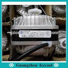 refrigerator condenser fan weiguang coppre wire refrigerator condenser square shaded pole fan