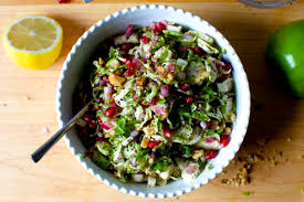 brussels sprouts apple and pomegranate salad smitten kitchen