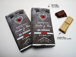 chocolat personnalisã mariage 30 faire part mariage mini tablette chocolat