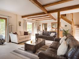 Wooden Sofa Sets For Living Room Sofa Set Cloth Brown And Cream Plain Living Room White Wood Oval