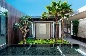 Contemporary House Design by Modern Resort Villa With Balinese Theme Idesignarch Interior