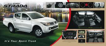 mitsubishi adventure gx the all new 2015 mitsubishi strada is here w full brochure